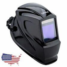 Real Color Large View Welding Helmet Solar Power Auto Darkening Hood Weld Mask