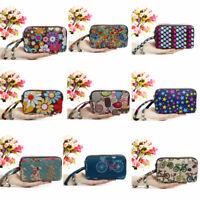 femmes - portefeuille embrayage sac les filles des sacs à main 3 - layer zipper