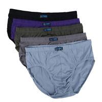 5Pcs Mens Briefs Underwear Cotton Underpants Shorts Plus Size 8XL Color Random