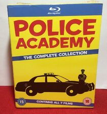 Police Academy:The Complete Collection(Blu-ray)7-Discs-NEW-Free S&H-REGION FREE