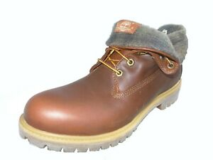 Timberland Herren Earthkeepers AF Roll Top 6 inch Premium boots braun 6831A