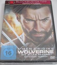 X-Men Origins - Wolverine - DVD/NEU/OVP/Action/Hugh Jackman/Ryan Reynolds