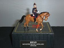 Britains 8910 Premier Series Mounted Royal Artillery Officer in Fitted Box.