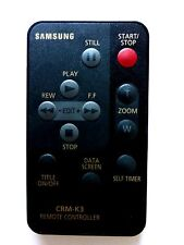 Cámara De Video Samsung Control Remoto CRM-K3 para VPK70 VPK75