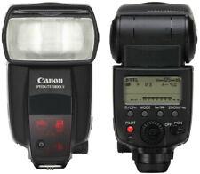 Genuine Canon Camera Speedlite 580EX II - Boxed flash hardly used