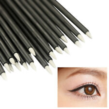 50x Disposable Eye Liner Brush Short Handle Cosmetic Eyeliner Make Up Brushes