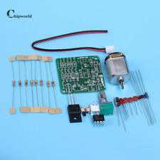 Smart Electronics 6-12V DC Motor + Driver PWM Speed Controller Board DIY Kits