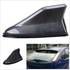 Carbon Fiber Universal Car SUV Shark Fin Roof Antenna Radio FM/AM Signal Aerial