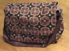 Bavarian Bliss Petunia Pickle Bottom Abundance Boxy Backpack Diaper Bag-  EUC!