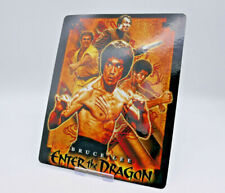 ENTER THE DRAGON Glossy Bluray Steelbook Magnet Magnetic Cover (NOT LENTICULAR)