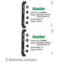 Kastar FNP-45 Battery for FinePix JV105 JV150 JV155 JV160 JV200 JV205 JV250