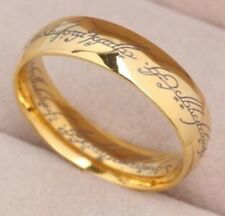 Gold Lord of the Rings One Ring Lucky Unisex LOTR New Zealand Wizard Spells Old
