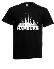 Herren T-Shirt Hamburg bis 5XL