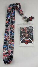 New DC Comics Dawn Of Justice Batman VS Superman ID Card Holder Lanyard W/Charm