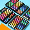12 Colors Drawing Soft Dry Pastel Art Artist Chalk Non Toxic for Office Painting