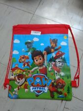 RED PAW PATROL SHOE BAG/BACKPACK FOR KID/CHILDREN