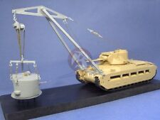 Resicast 1/35 Crane for Matilda CDL Units w/Opt. Blocks & Frame (Tamiya) 351235