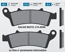 174.0096 PASTILLA DE FRENO ORIGINAL POLINI PEUGEOT : TREKKER 150