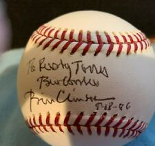 PRESIDENT BILL CLINTON SIGNED OFFICIAL RAWLINGS MLB BASEBALL PSA/DNA GUARANTEE