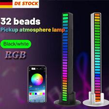 LED-Lichtleiste Sprachsteuerung Sound Rhythm Light Atmosphere RGB Musik Licht DE