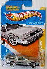Hot Wheels BACK TO THE FUTURE TIME MACHINE - DELOREAN REGRESO AL FUTURO