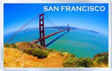 SAN FRANCISCO FRIDGE MAGNET SOUVENIR IMÁN NEVERA