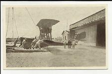 antica cartolina di idrovolante austriaco catturato da quarto vicino a lissa