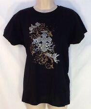 Cross & Angels Catholic Christian T Shirt (Juniors Medium) Cherubs LENT EASTER