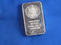 Sunshine Minting Inc .999 Silver 5 Oz Ingot Bar B4446