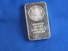 Sunshine Minting Inc .999 Silver 5 Oz Ingot Bar B4446