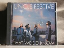 UNCLE FESTIVE - THAT WE DO KNOW - CD JAPAN COME NUOVO LIKE NEW 1989 DENON