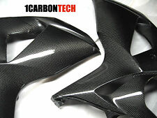 09-16 SUZUKI GSXR 1000 CARBON FIBER FRONT SIDE PANELS FAIRINGS