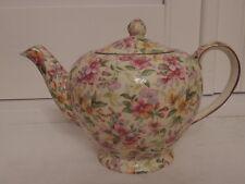 Vintage Royal Winton Chintz Estelle Teapot Tea for One 1950's