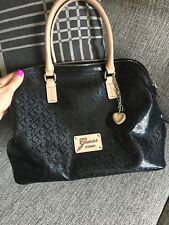 Guess Handbag Bag Purse Black Tote