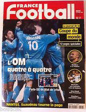 France Football du 17/2/1998; Le journal de la coupe du monde/ Barthez/ Bierhoff