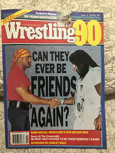Wrestling Summer 1990 Hulk Hogan Ultimate Warrior Can They ever Be Friends Again