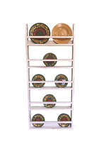 Farmhouse Plate Rack Wall Hanging, Country Rustic Plate Rack Stand