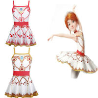 Kids Girls Ballet Dance Dress Ballerina Tutu Skirt Dancewear Swimwear Costume