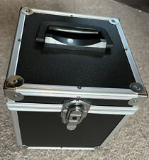 7 inch SINGLE VINYL RECORD Flight Case / CARRY CASE Box - Holds 100 with Key