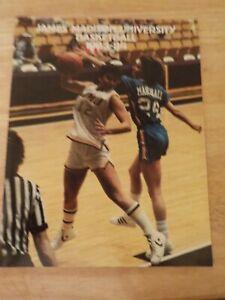 1983-84 JAMES MADISON DUKES UNIVERSITY JMU WOMENS BASKETBALL MEDIA PRESS GUIDE