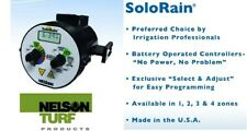 Nelson 8022 2 Zone SoloRain Wireless Battery Operated Sprinkler Controller Timer