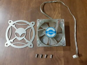 ANTEC 2-WIRE COOLING CASE FAN 80 Mm WITH GRILLE AND SCREWS