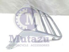 Heavy Duty Steel Luggage Rack for Kawasaki Vulcan VN 900 in Chrome finish