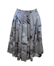 ** Mint Velvet ** Pretty Skirt ** Muted Greys and Browns ** UK 10 ** Cotton **