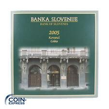 *** SLOWENIEN Tolar KMS 2005 BU Stempelglanz Kursmünzensatz vor Euro Slovenia **