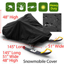Trailerable Waterproof Outdoor Ski Snowmobile Sled Cover Full Storage  !