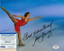 NANCY KERRIGAN Autographed Signed 8x10 Photo - PSA/DNA - Olympic Figure Skater