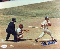 Stan Musial Autographed 8x10 Photo (JSA)