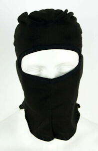 Russian Military Army Spetsnaz Special Forces 1 Hole Face Mask Balaclava Black