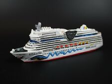 Schiff Modell Kreuzfahrtschiff  MS Aidabella Aida,12cm Polyresin Cruise Ship,NEU